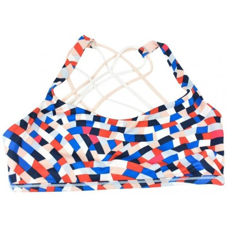 Multi Color Sports Bra with pad slots Supplier & Manufacturer