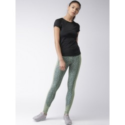 Women Olive Printed Tights Manufacturer