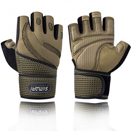 Weight Lifting Gloves with Wrist  Support
