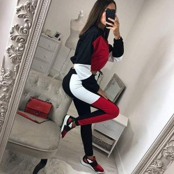 Women Hooded Sweatshirt Suits