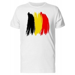 National Flag Customized Plain Round Neck T-Shirt Manufacturer