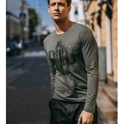 Long Sleeve Men's T-Shirts Manufacturer