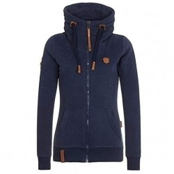 Women Fashion New Hoodie Jacket Zip with Collar Manufacturer