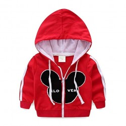 Kids Outfits Cartoon Zip Up Hoodies and Pants Manufacturer