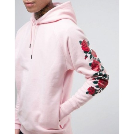 Hot Fashion Design Fleece Men Hoodie with Printing Manufacturer
