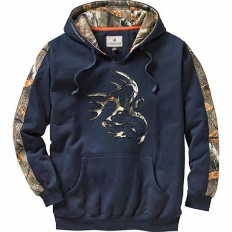 Men′s Camo Outfitter Hoodie Printed Pullover Hoodie Manufacturer