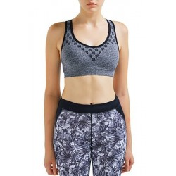Customized full printing yoga cropped top bra