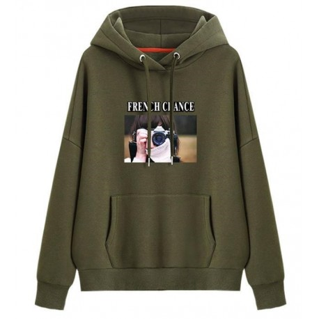 ODM&OEM Pullover Clothing Cotton/Polyester Hoodie Picture Printing Women′s Hoodie Reference