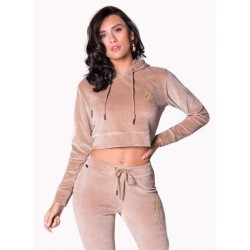Women's Crop Hoodie Apparel Manufacturer- Gym Clothes