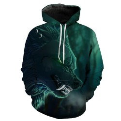 Men′ S Cotton Fleece Hooded Hoody | Pull up Hoodie with Custom Printing Manufacturer
