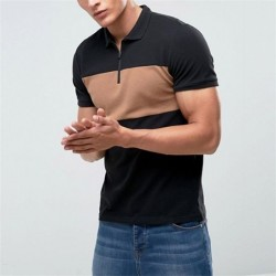 V-Neck T-Shirts Plain Black T Shirts Manufacturer Pakistan