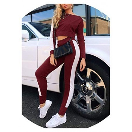 Women's Tracksuits Casual Long Sleeve Crop Top Manufacturer