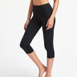 Women Active Wear Cropped Leggings for Women Sport Gym Set