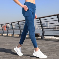 Custom Women′s Fitness Leggings Athletic Yoga Pants Running Sportswear