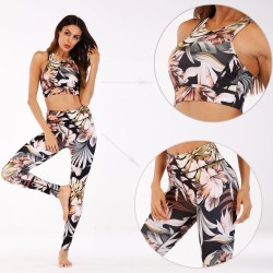 Custom Design Printed Women′s Yoga Wear Legging with Your Artwork