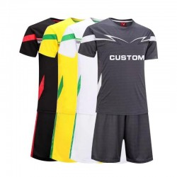 Soccer uniform Supplier 100% Polyester Cheap Custom Soccer Uniforms for Teams