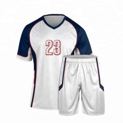 Men′ S Customized Stripe Football Suit Sport Wear Breathable Soccer Uniform