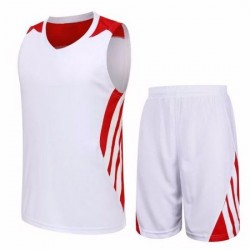 Custom Dry Fit Fabric Sublimated Print Youth Basketball Uniforms