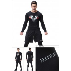 Three Piece Suits Training Workout Clothes Gym Wear Mens Sportswear