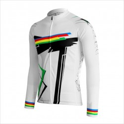 Hot Sale 100% Polyester Mesh Fabric Cycling Uniforms