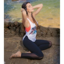 Fitness Legging manufacturer & Supplier with Fabric that minimises the Look of Cellulite