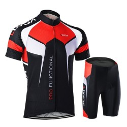 Men Cycling Suits Sports Racing Trousers and Shirts Athletic Wear