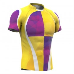 OEM Wholesale Custom Sublimated Printed Rugby Jersey