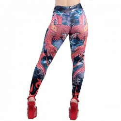 High-Waisted Printed Legging Manufacturer
