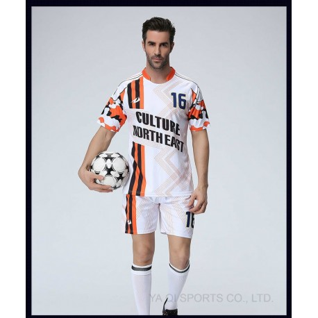 Cheap Custom Dry Fit Professional Sublimation Soccer Club Jersey Kit Top Quality OEM Soccer Jerseys Sublimated Soccer Jersey