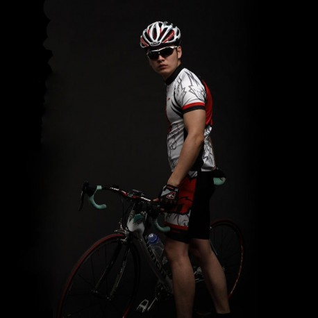 OEM New Polyester Sublimated Cycling Jersey