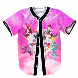 Manufacturer Custom Sublimated Stitched Baseball Jerseys with Full Buttons