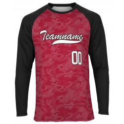 Custom Sublimated Long Sleeve RaglanTee