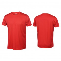 Crew Neck Polyester Fabric T-shirts Manufacturer & Supplier