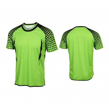 Crew Neck Sublimated Polyester Fabric T-shirt Manufacturer & Factory