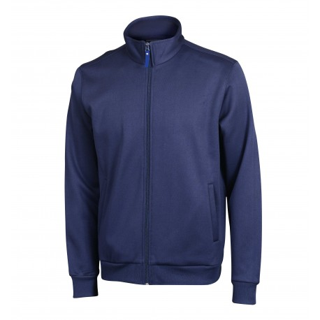 Full Zip Polyester Fabric Sweatshirt Manufacturer & Supplier