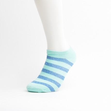 Striped cotton ankle socks Manufacturer & Supplier