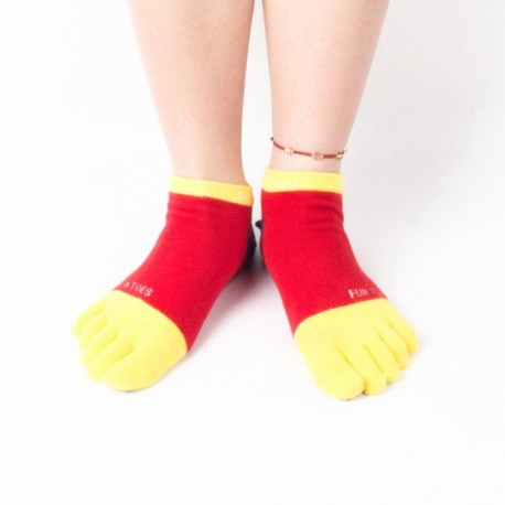 Breathable non-slip sports toe socks Manufacturer & Supplier