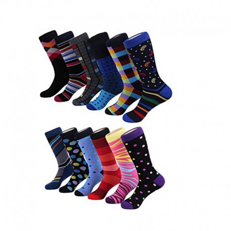 Casual business office crew cotton dress socks Manufacturer