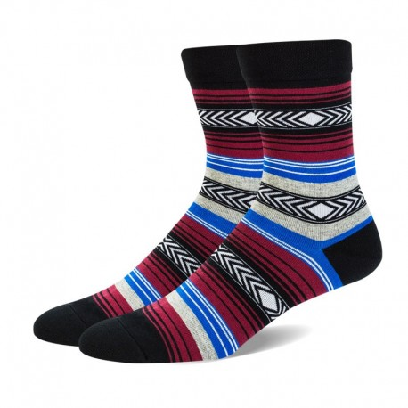 Striped man sock mens colored dress socks Manufacturer