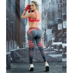 Sublimated Yoga Leggings