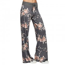 Causal Women Printed Floral Lounge Pants Manufacturer & Supplier
