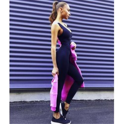 Athletic Mesh Gym Yoga Running Fitness Sportswear Pants
