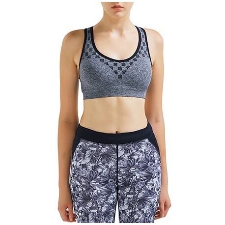Hot Customized Print Sports Crop Top Ladies Training Fitness Yoga Bra